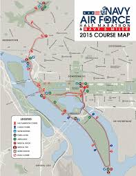 Boston Marathon Route Map by Best Half Marathons In Washington D C Runner U0027s Review