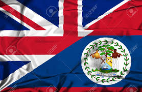 Belize Flag Waving Flag Of Belize And Uk Stock Photo Picture And Royalty Free
