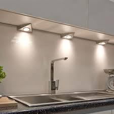 triangular under cabinet kitchen lights sensio furniture lighting solutions