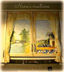 decoupage kitchen cabinets nana vintagecreations com pinterest