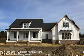modern farmouse modern farmhouse plan 51754hz comes to life in north carolina