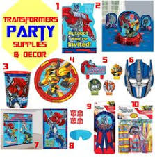 transformers rescue bots party supplies transformers rescue bots stickers birthday and theme party