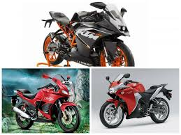 hero cbr new model ktm rc200 vs honda cbr250r vs hero karizma zmr tech specs and