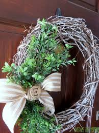 chalk painted grapevine wreath a wreath for all seasons