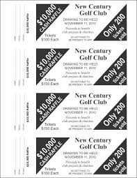 raffle ticket templates large raffle ticket templates 4