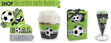soccer party supplies goaaal soccer party supplies big dot of happiness