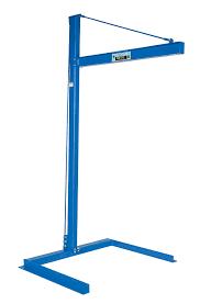 vestil cjib 6 mini overhead cantilever jib crane freestanding