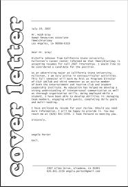 How To Type A Resume For A First Job by Experimenteer Eens Met De Lay Out Van Je Brief Sollicitatiebrief