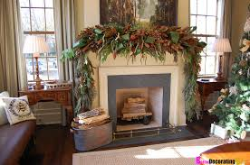 christmas mantel decor diy friday easy christmas mantel decorating