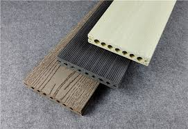 plastic wpc composite decking boards hollow co extrusion diy