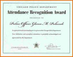 free perfect attendance certificate template