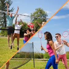 champions volleyball u0026 badminton set u2013 baden backyard