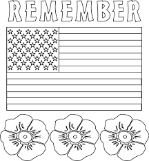 memorial coloring pages free printable pictures kids