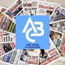 audit circulation bureau major dailies see drop in circulation in 2h13 kinibiz