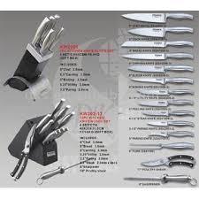Kitchen Knives Set Reviews Kitchen Impressive Kitchen Knife Set With Their Names Best