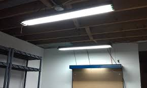 kitchen fluorescent lighting ideas led garage ceiling lights an energy efficient way to light your