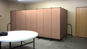 movable room dividers a privacy screen steals the show screenflex portable partitions