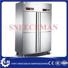 equipement cuisine commercial quatre porte de cuisine commerciale congélateur console