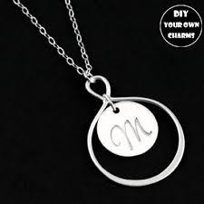 Monogrammed Pendant Necklace Popular Monogram Pendant Necklace Buy Cheap Monogram Pendant