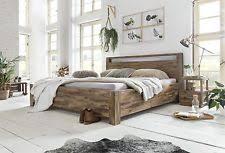 ehebett bett 180x200 massivholz doppelbett mango braun bettgestell bettgestelle ohne matratze mit kopfteil aus holz ebay