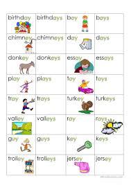 plurals ending in y worksheet free esl printable worksheets made