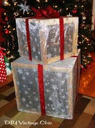 49 best christmas lighted boxes images on pinterest christmas