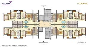 Central Park Floor Plan by Lodha Palava Central Park Mumbai