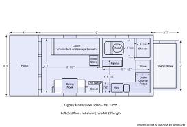 floor plan shower symbol tiny house on wheels plans tiny house plans on wheels gypsy rose