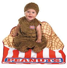 Bunting Halloween Costume Peanut Bunting 6mos Baby Nut Costume Baby Bunting Costume