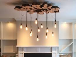 American Made Chandeliers Handmade Extra Large Live Edge Olive Wood Chandelier Rustic And