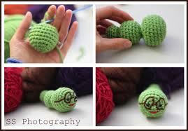 edible thoughts amigurumi inch worm