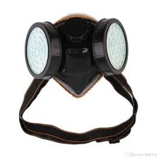 ventilation mask for painting 2017 protection filter dual gas mask chemical gas anti dust paint
