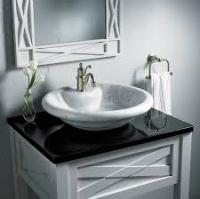 advice on vessel type bathroom sinks