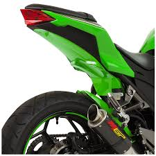 ninja 300 integrated tail light ninja 300 undertail 2013 15 bodies racing