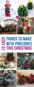 ornament awesome ideas for white pine cone decoration