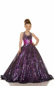 2015 cheap gold purple flower dress beaded halter ball gown