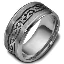 titanium celtic wedding bands titanium celtic carved wedding ring www weddingbands judy