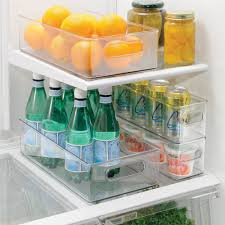 amazon com interdesign refrigerator and freezer storage organizer