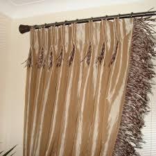 Unique Curtain Rods Ideas Interior Design Cool Pinch Pleated Drapes For Elegant Interior