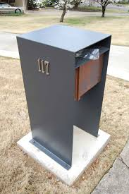 likeness of stylish post modern mail box invites more letters in