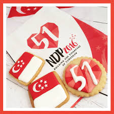 Singapur Flag Happy 51st Birthday Singapore Crissa U0027s Cake Corner