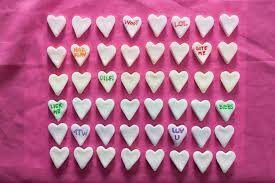 valentines heart candy diy conversation heart candy recipe chowhound