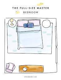 Normal Size Of A Master Bedroom Creative Bedroom Layouts For Every Room Size Mydomaine