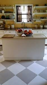 painted kitchen floor ideas how to paint linoleum kitchen floors