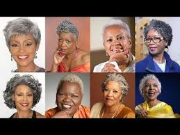 natural hairstyles for black women age 60 african american short hair styles for older women over 50 to 60