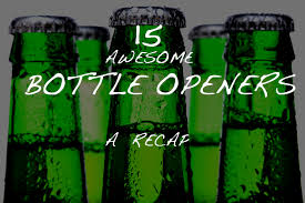unique bottle opener 15 awesome bottle openers gearmoose