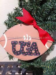 xl football uga christmas ornament