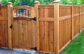 Backyard Gate Ideas Contemporary Wood Fences And Gates Ideas For Fence Gate