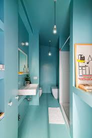 Blue And White Bathroom Tile 13 Inspirational Examples Of Blue And White Bathrooms Contemporist