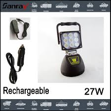 rechargeable magnetic work light strong magnetic 27w led work light rechargeable led work l view